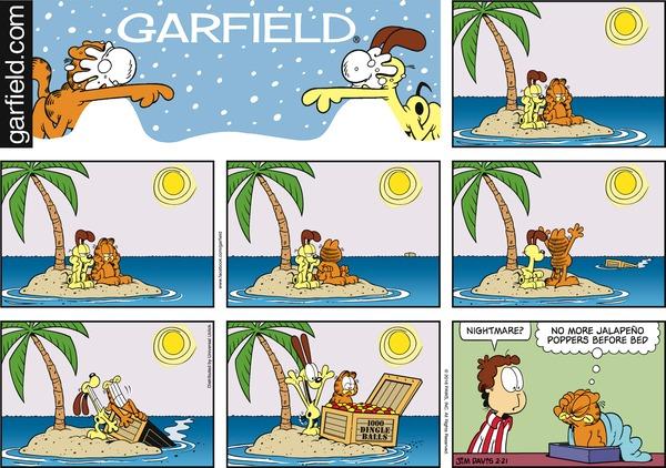 Garfield S Seven Layer Chocolate Cake