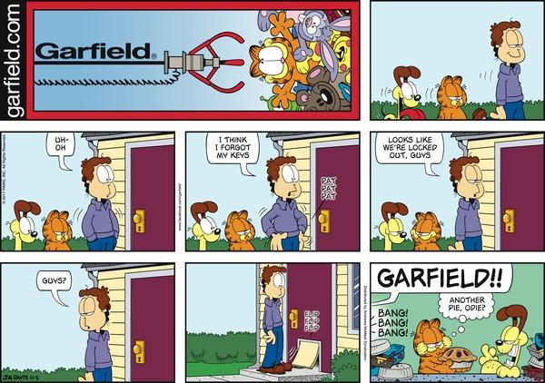 garfield 5/11/2017